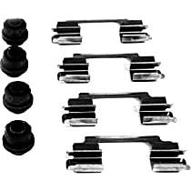 117.22006 Brake Hardware Kit - Direct Fit, Kit