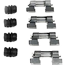 Brake Hardware Kit - Direct Fit, Kit Front