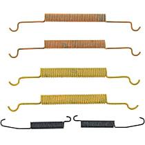 118.42001 Brake Hardware Kit - Direct Fit, Kit