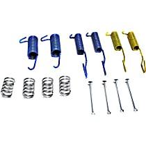 Brake Hardware Kit - Direct Fit, Kit Front