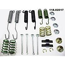118.62017 Brake Hardware Kit - Direct Fit, Kit