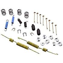 Centric 118.68003 Brake Hardware Kit - Direct Fit, Kit Rear