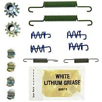 118.39002 Parking Brake Hardware Kit