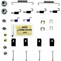 118.47009 Parking Brake Hardware Kit