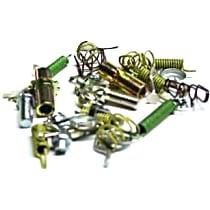 Brake Hardware Kit - Direct Fit, Kit Rear