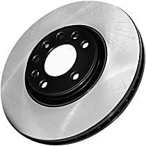 Centric Premium Front Driver Or Passenger Side Brake Disc