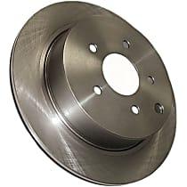 121.34072 Centric C-Tek Rear Driver Or Passenger Side Brake Disc