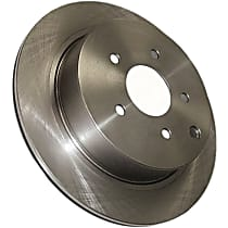 Centric C-Tek Rear Driver Or Passenger Side Brake Disc