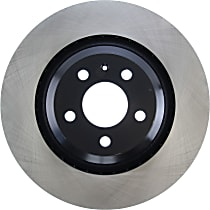 Centric Premium High Carbon Rear Driver Or Passenger Side Brake Disc