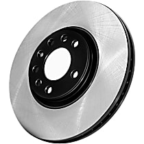 Centric Premium High Carbon Front Driver Or Passenger Side Brake Disc