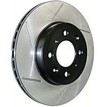 Centric Power Slot Front Driver Side Brake Disc