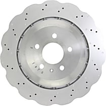 128.33151 Premium High Carbon Series Rear Driver Or Passenger Side Brake Disc