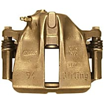 141.33043 Brake Caliper, Remanufactured, Semi-loaded (Caliper & Hardware) Type, Sold Individually, Includes bracket