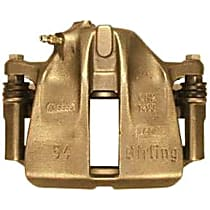 141.33044 Brake Caliper, Remanufactured, Semi-loaded (Caliper & Hardware) Type, Sold Individually, Includes bracket