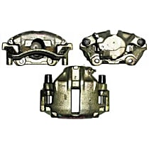 141.33051 Brake Caliper, Remanufactured, Semi-loaded (Caliper & Hardware) Type, Sold Individually, Includes bracket