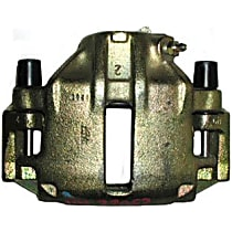 141.33052 Brake Caliper, Remanufactured, Semi-loaded (Caliper & Hardware) Type, Sold Individually, Includes bracket