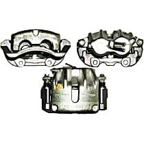 141.33059 Brake Caliper, Remanufactured, Semi-loaded (Caliper & Hardware) Type, Sold Individually, Includes bracket