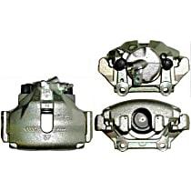 141.33071 Brake Caliper, Remanufactured, Semi-loaded (Caliper & Hardware) Type, Sold Individually, Includes bracket