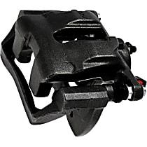 Brake Caliper, Remanufactured, Semi-loaded (Caliper & Hardware) Type, Sold Individually, Includes bracket
