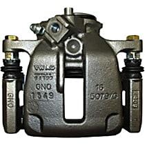 141.33655 Brake Caliper, Remanufactured, Semi-loaded (Caliper & Hardware) Type, Sold Individually, Includes bracket