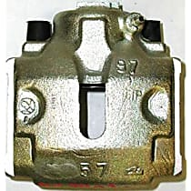 141.34020 Brake Caliper, Remanufactured, Semi-loaded (Caliper & Hardware) Type, Sold Individually, Includes bracket