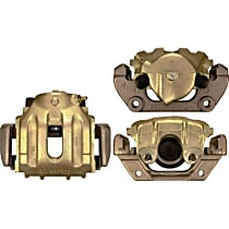 141.34027 Brake Caliper, Remanufactured, Semi-loaded (Caliper & Hardware) Type, Sold Individually, Includes bracket