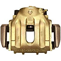 141.34028 Brake Caliper, Remanufactured, Semi-loaded (Caliper & Hardware) Type, Sold Individually, Includes bracket