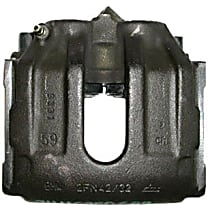 141.34030 Brake Caliper, Remanufactured, Semi-loaded (Caliper & Hardware) Type, Sold Individually, Includes bracket