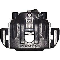 141.34041 Brake Caliper, Remanufactured, Semi-loaded (Caliper & Hardware) Type, Sold Individually, Includes bracket