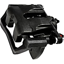 141.34059 Brake Caliper, Remanufactured, Semi-loaded (Caliper & Hardware) Type, Sold Individually, Includes bracket