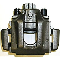 141.34514 Brake Caliper, Remanufactured, Semi-loaded (Caliper & Hardware) Type, Sold Individually, Includes bracket
