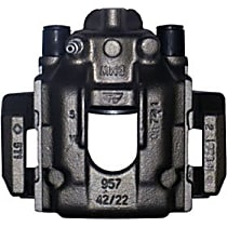 141.34550 Brake Caliper, Remanufactured, Semi-loaded (Caliper & Hardware) Type, Sold Individually, Includes bracket