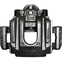 141.34569 Brake Caliper, Remanufactured, Semi-loaded (Caliper & Hardware) Type, Sold Individually, Includes bracket