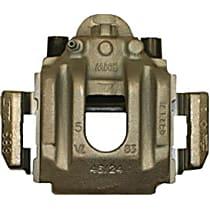 141.34570 Brake Caliper, Remanufactured, Semi-loaded (Caliper & Hardware) Type, Sold Individually, Includes bracket