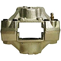 Brake Caliper, Remanufactured, Semi-loaded (Caliper & Hardware) Type, Sold Individually, No Bracket Required
