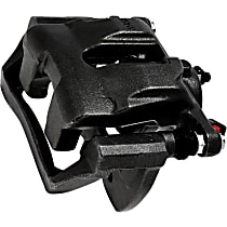 Centric 141.46047 Brake Caliper, Remanufactured, Semi-loaded (Caliper & Hardware) Type, Sold Individually, Includes bracket