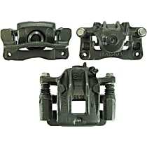Centric 141.51612 Brake Caliper, Remanufactured, Semi-loaded (Caliper & Hardware) Type, Sold Individually, Includes bracket