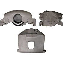 Centric 141.66012 Brake Caliper, Remanufactured, Semi-loaded (Caliper & Hardware) Type, Sold Individually, No Bracket Required
