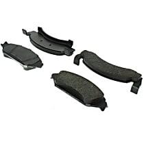 Centric Fleet Performance Front Brake Pad Set