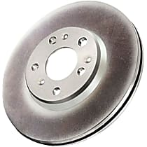GCX Elemental Protection Series Rear Driver Or Passenger Side Brake Disc