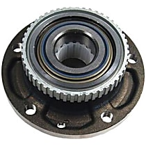 406.34002E Front, Driver or Passenger Side Wheel Hub With Ball Bearing - Sold individually