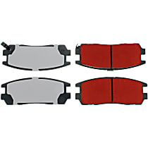 Centric PQ Pro Rear Brake Pad Set
