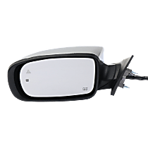 Mirror - Driver Side, Power, Heated, Chrome, With Turn Signal, Memory, Blind Spot Function and Puddle Lamp