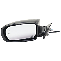 Mirror - Driver Side, Power, Heated, Paintable, With Turn Signal, Memory, Blind Spot Function and Puddle Lamp