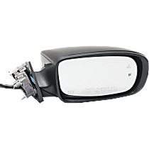 Mirror - Passenger Side, Power, Heated, Paintable, With Turn Signal, Memory, Blind Spot Function and Puddle Lamp