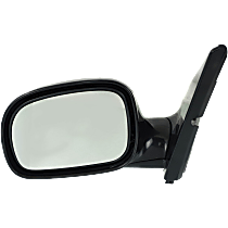 Mirror Manual Folding Non-Heated - Driver Side, Manual Glass, Paintable