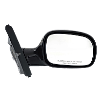 Mirror Manual Folding Non-Heated - Passenger Side, Manual Glass, Paintable