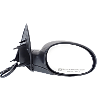 Mirror Manual Folding Heated - Passenger Side, Power Glass, Textured Black