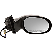 Mirror - Passenger Side, Power, Textured Black, For Sedan