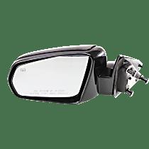 Mirror - Driver Side, Power, Heated, Paintable, For Sedan